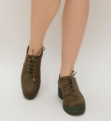 Pantofi Casual Rotex Verzi