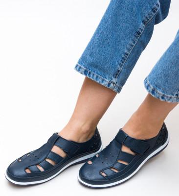 Pantofi Casual Saptes Bleumarin