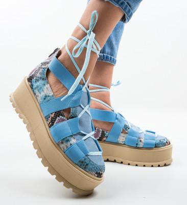 Pantofi Casual Sesane Albastri