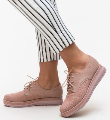 Pantofi Casual Tadim Roz