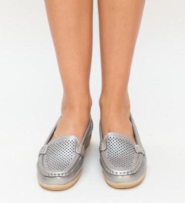 Pantofi Casual Zmogo Gri
