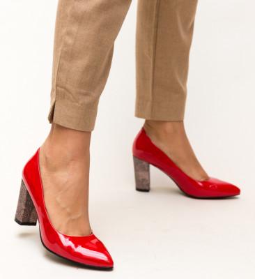 Pantofi Chen Rosii