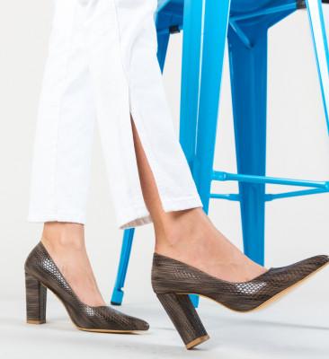 Pantofi Cocodil Maro 2