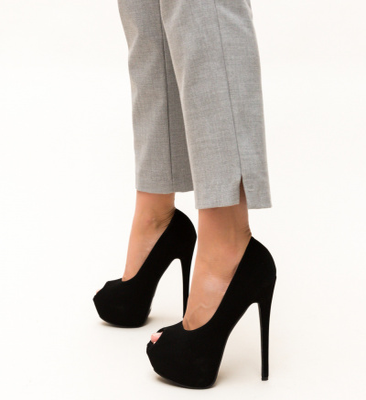 Pantofi Daguno Negri