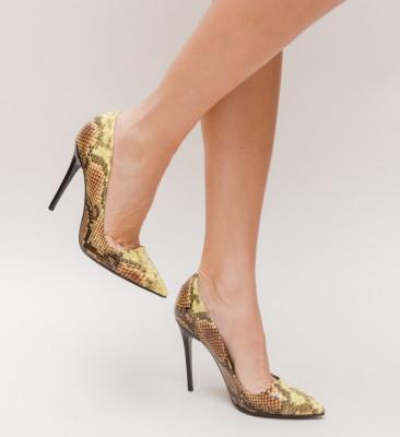 Pantofi Deka Galbeni