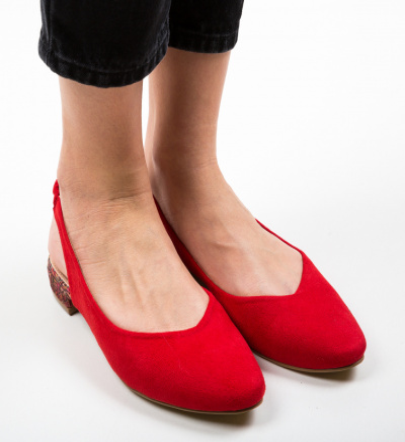 Pantofi Esmai Rosii