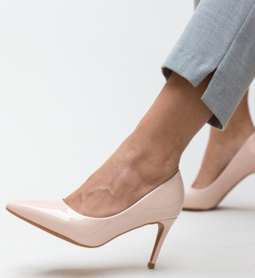 Pantofi Grace Bej