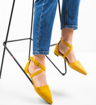Pantofi Haeq Galbeni