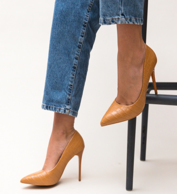 Pantofi Hume Camel