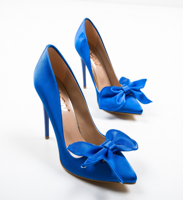 Pantofi Juanita Albastri 2