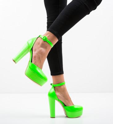 Pantofi Krista Verzi