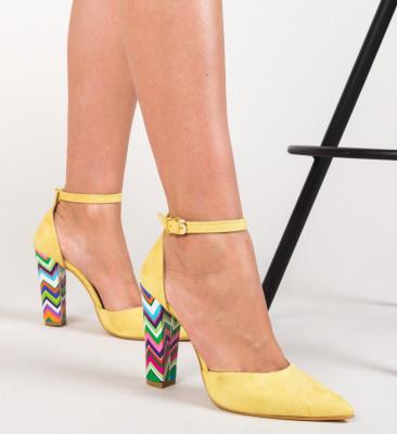 Pantofi Kyron Galbeni 2