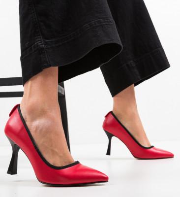 Pantofi Latha Rosii