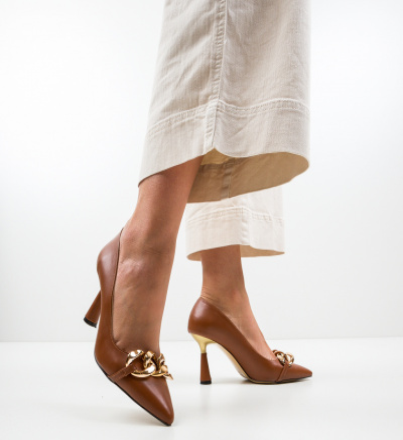 Pantofi Link Maro