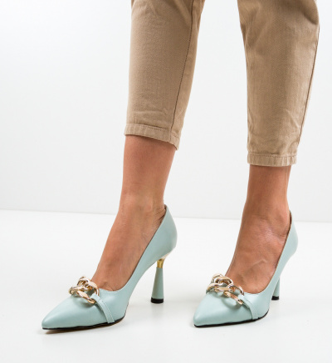 Pantofi Link Turcoaz