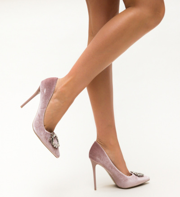 Pantofi Lisa Roz