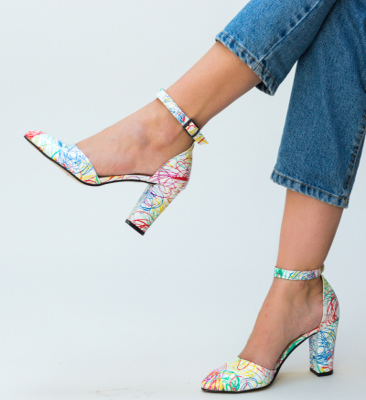 Pantofi Muzli Albi