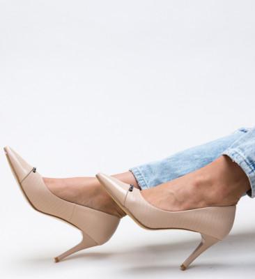 Pantofi Mylo Bej