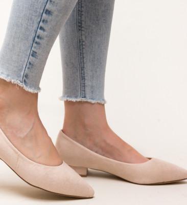 Pantofi Niam Bej