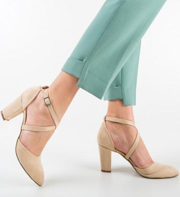 Pantofi Pandini Bej 2