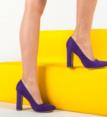 Pantofi Piro Mov