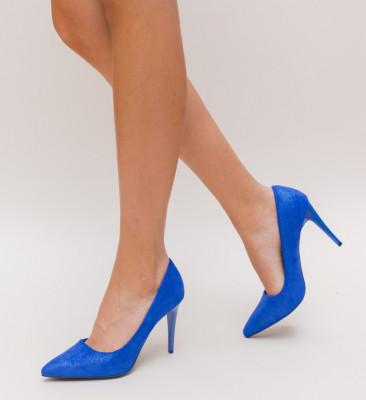 Pantofi Polon Albastri