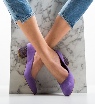 Pantofi Sahara Mov