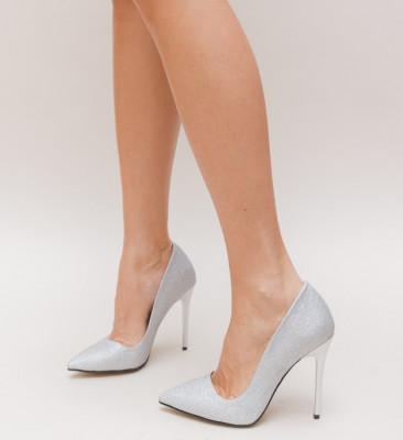 Pantofi Simero Argintii