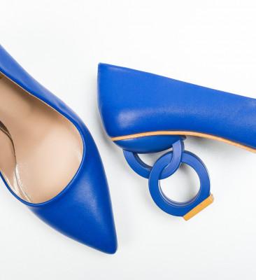 Pantofi Simoni Albastri 2