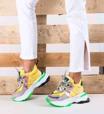Pantofi Sport Ciaga Galbeni