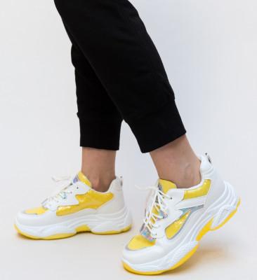 Pantofi Sport Dion Galbeni