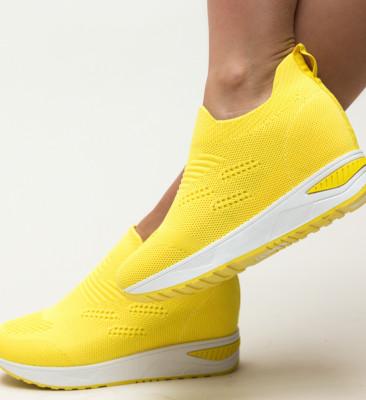 Pantofi Sport Ematri Galbeni