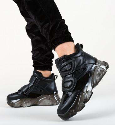 Pantofi Sport Enoch Negre 2