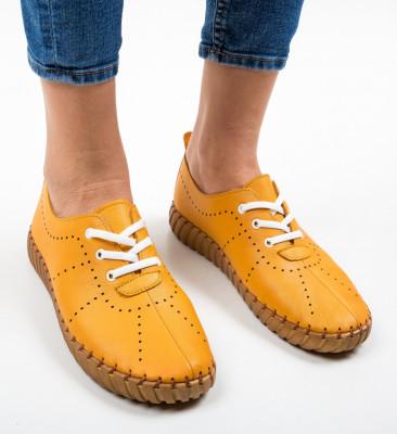 Pantofi Sport Gretata Camel