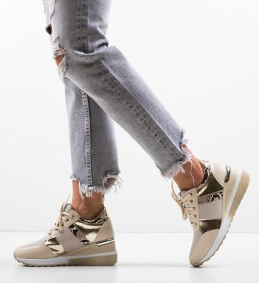 Pantofi Sport Hibara Bej 2