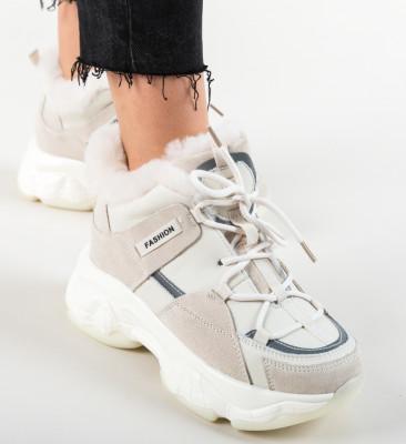 Pantofi Sport Lynn Bej
