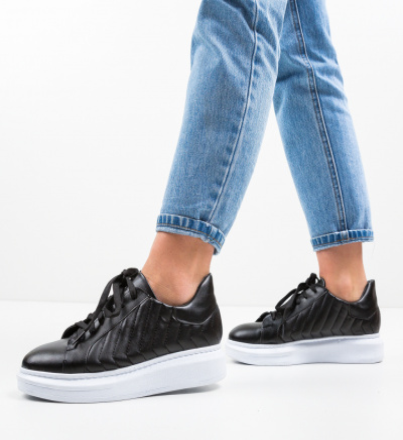 Pantofi Sport Nedit Negri 2