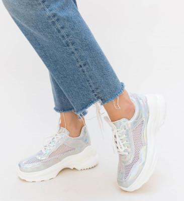 Pantofi Sport Neko Argintii
