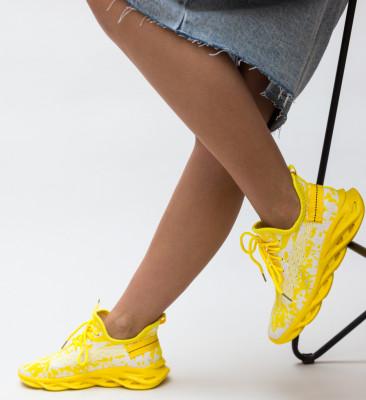 Pantofi Sport Pippa Galbeni