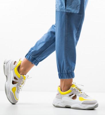 Pantofi Sport Tiopa Galbeni