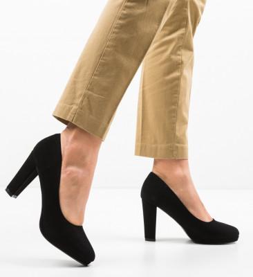 Pantofi Tregaza Negri 2