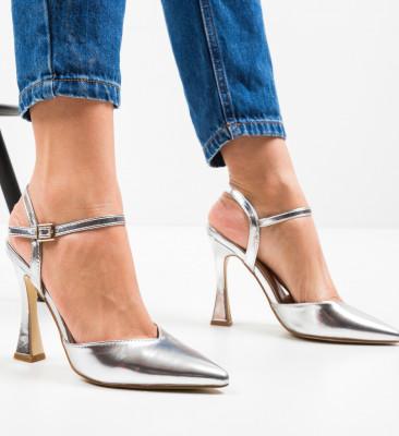 Pantofi Trop Argintii