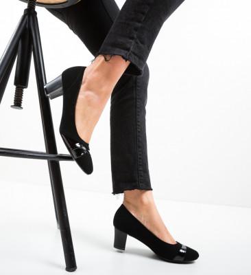 Pantofi Uleo Negri