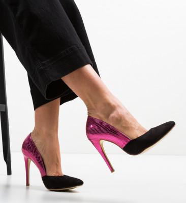 Pantofi Ventura Fuchsia