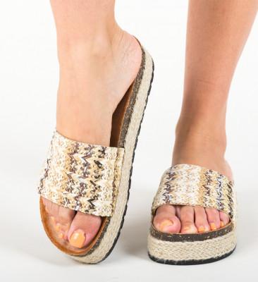 Papuci Arjano Camel