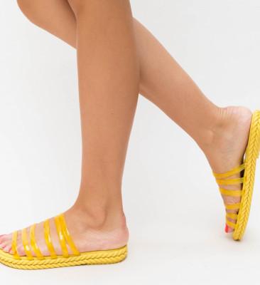 Papuci Barosa Galbeni