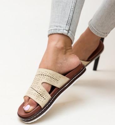 Papuci Greig Bej