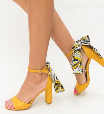 Sandale Amore Galbene