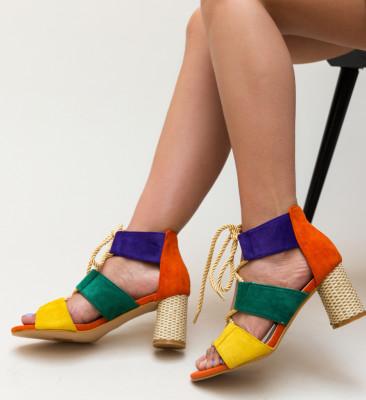 Sandale Aras Portocalii