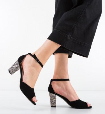 Sandale Blanc Negre 4